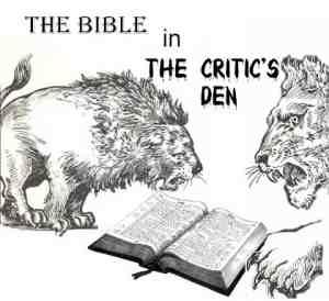 Bible critics